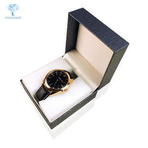 High end luxury corrugated watch packaging boxes custom logo