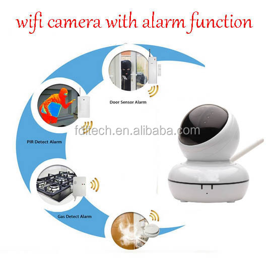FDL-WF8 Home Security Alarm Video Phone Record P2P IP Camera Wifi P2P Skype Camera
