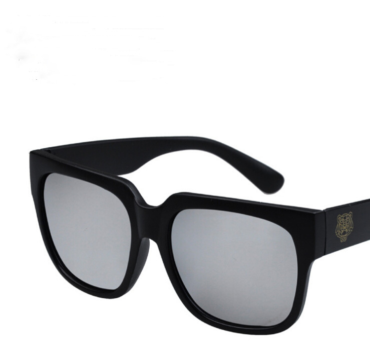 9f424e4812b9 Get Quotations · 2015Classic black square hot-selling thick-framed fashion  vintage sunglasses male sunglasses women s Tiger