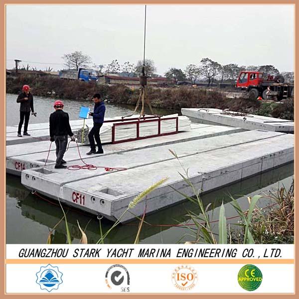 Longer Life Span Concrete Floating Docks Foam Concrete
