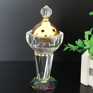 2018 best selling crystal incense burner for wholesale