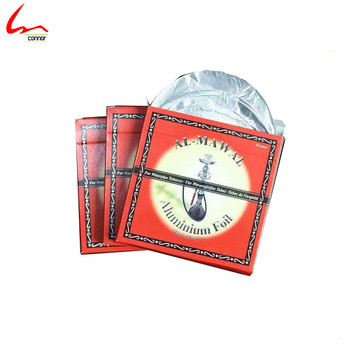 Heavy Duty Disposable Round Aluminum Shisha Foil With Holes Diameter 14cm 20-30mic