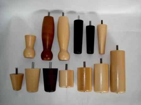 Patas de madera para muebles patas de muebles for Patas para muebles madera
