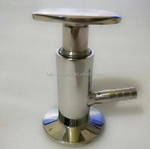 Sanitary Stainless Steel beer Sampling Valve with Tri Clamp End