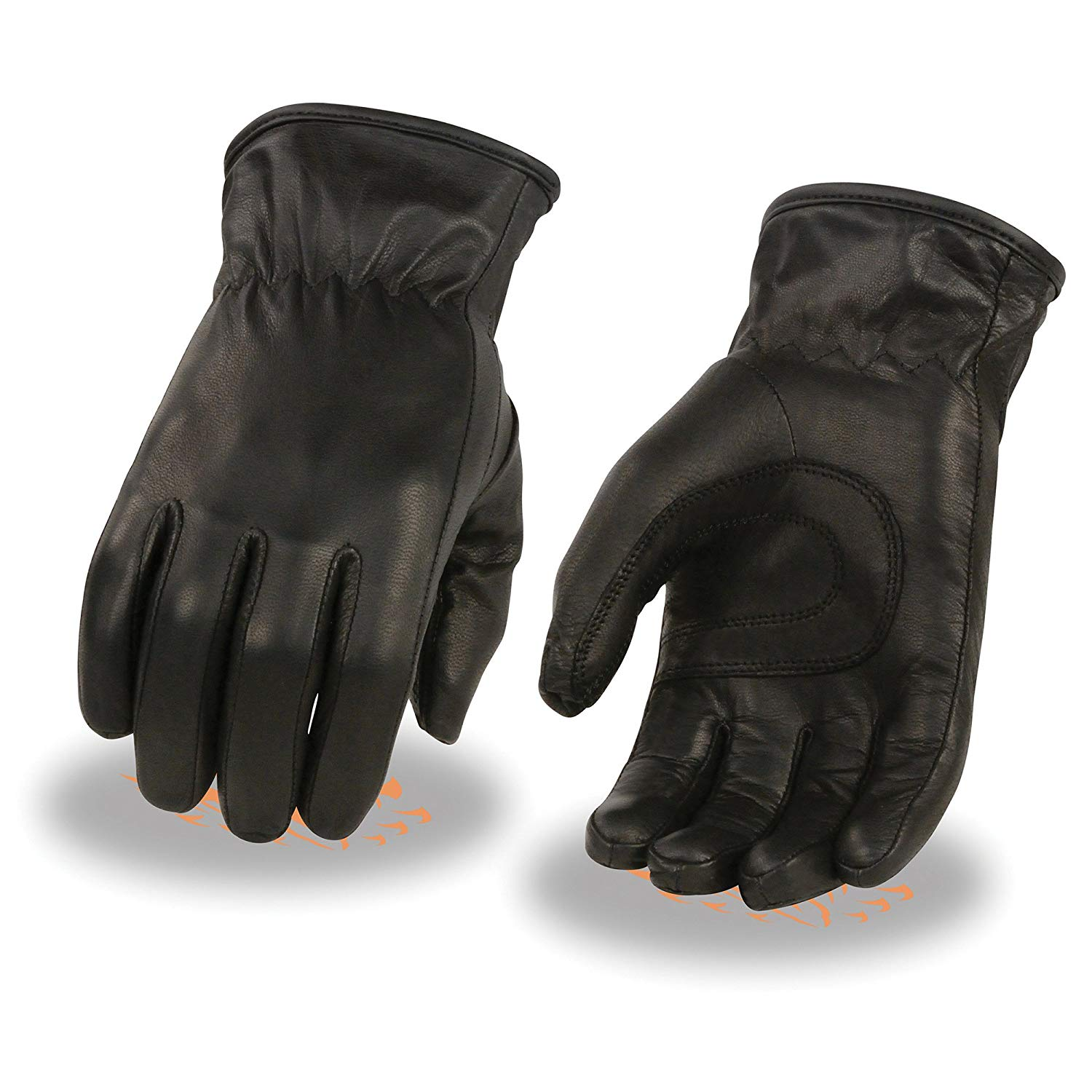 9ef80a42f Get Quotations · Ladies Premium Leather Thermal Lined Glove, w/Cinch Wrist  (Large)