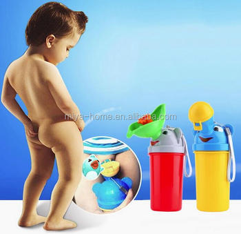 Portable Baby Travel Urinal / Camping Boy Girl Kid Potty / Travel urination Urinal