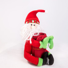 wholesale Snowman Santa claus felt christmas toy