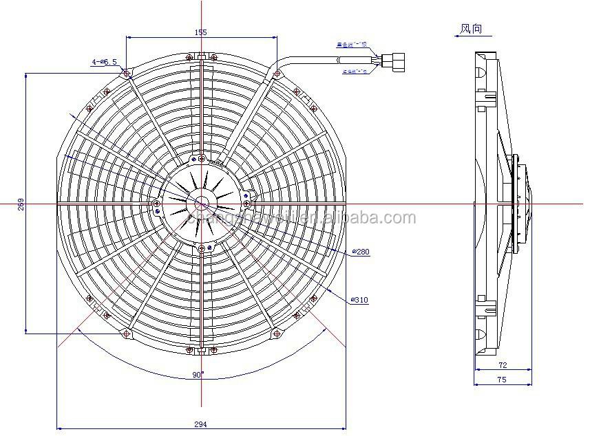 Universal Bus 12v Automobile Air Conditioner Fan Buy Air