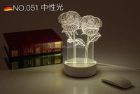 American retro British creative retro lamp bedroom bedside lamp dimming decoration country code zx