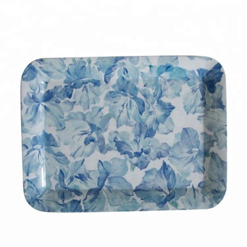 Flora High Quality Melamine Serving Tray Melamine Fruit Tray