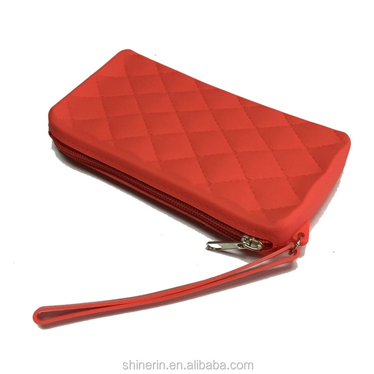 Womens Wristlet Smartphone Charging Wallet for iPhone & Android Includes Portable Cosmetic Pouch
