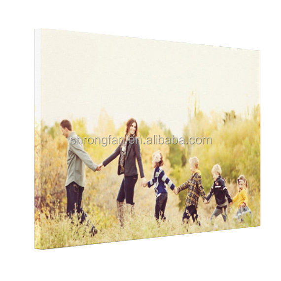 Favorite family photo holiday snapshot or landscape panorama create your dream print wall decor canvas