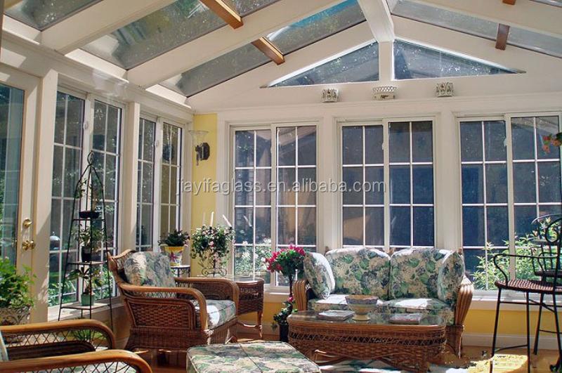 Steel frame glass sun room for villa garden buy glass for Garden room 4 seasons