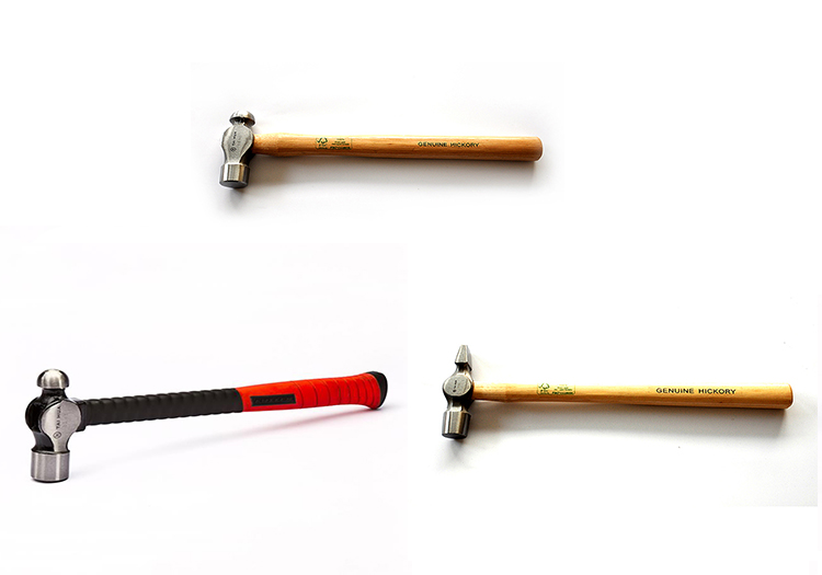 16oz ball-peen hammer with hickory handle