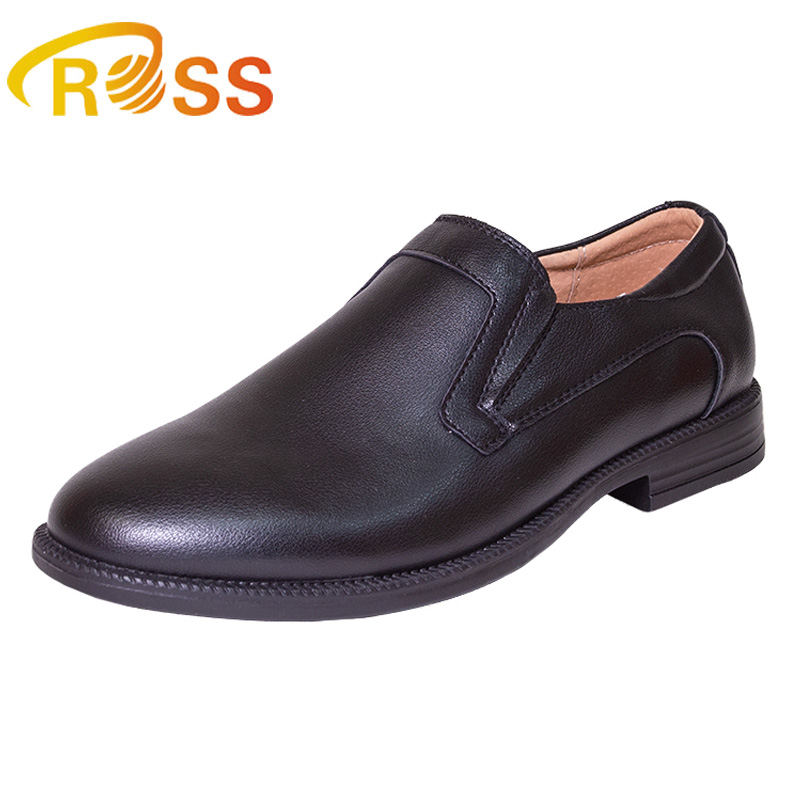 2018 Qwest Comfortable Slip On Boys School Dress Shoes - Buy ... 19a4a5cef825