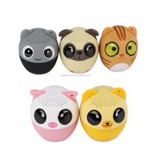 BM6 Mini Animal Bluetooth Speaker Cute Cartoon Outdoor Sound Box Music Pet Portable Wireless Loudspeaker For PC MP3