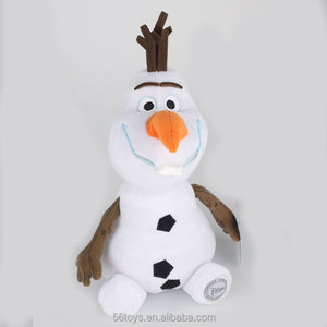 PMS soft plush ice age toys for amusement park snowman olaf