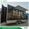 Low cost concession hamburger food trailer for food