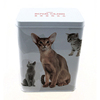 high quality tall rectangular metal dog food storage containers