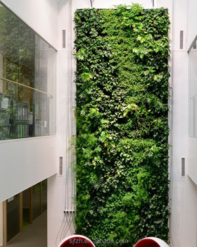 Indoor Vertical Garden Green Wall For Mall Decorative Artificial Plant Walls Buy Vertical Hanging Garden Artificial Vertical Garden Wall Artificial