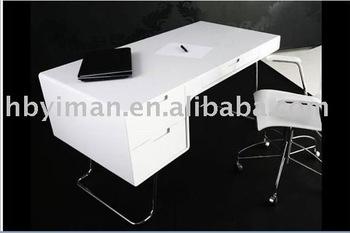 High Gloss Office Desk Furniture