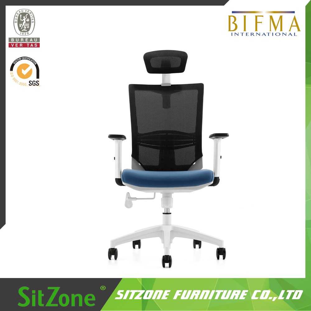 SITZONE OFFICE High Back Mesh Computer Task Chair with Adjustable Armrests CH-133A-3