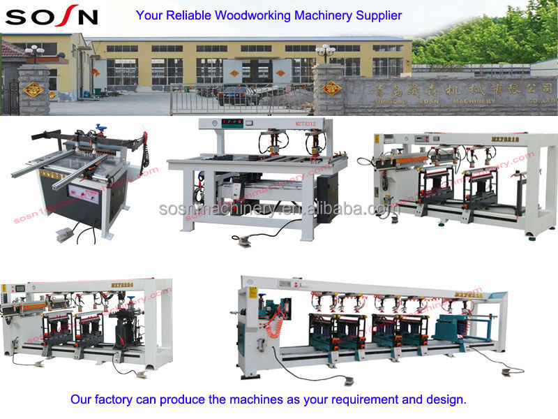 woodworking Multi Boring machine drilling machine MZB73212 drilling machine panel furniture factory price high quality with CE
