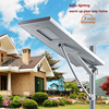 Low price outdoor ip65 high power solar street led light 5 years warranty