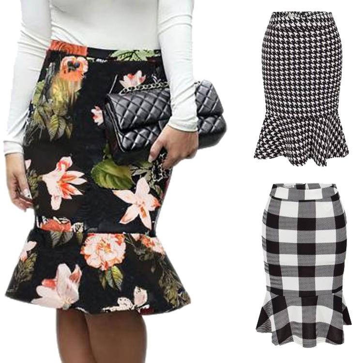 1c100f47e Preço De Fábrica Amazon Hot Sales Moda Floral De Cintura Alta As ...