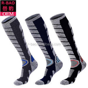 3 pairs pack mens knee high sport sock ski snowboard socks winter hiking socks