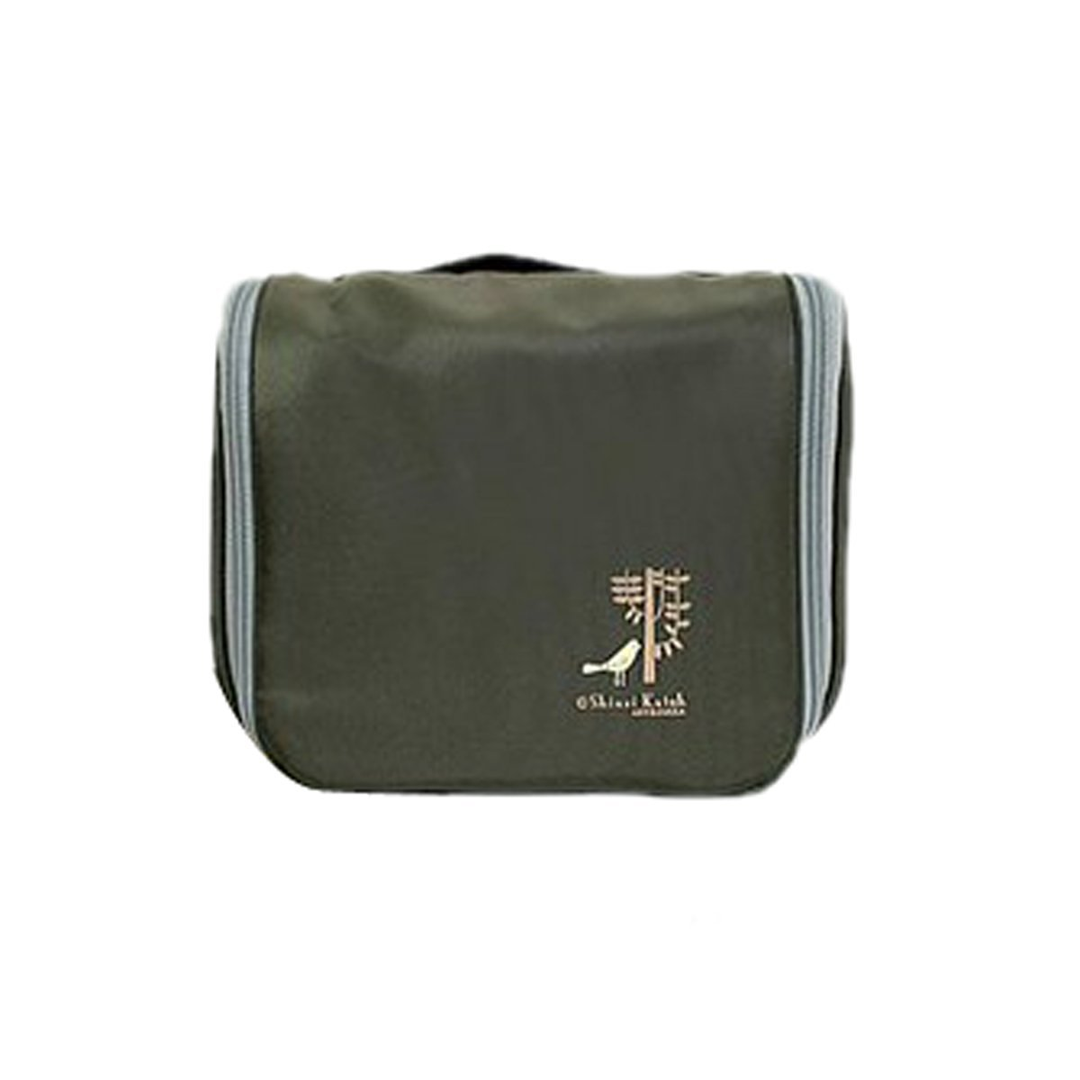 DEHANG Waterproof Nylon Ventilated Durable Portable Organiser Storage Bag With Handle for Travel - Blackish Green