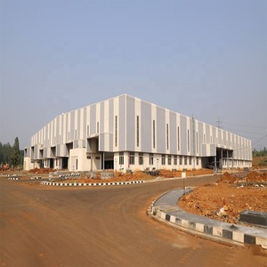 Prefabricated Industrial Metal Factory Building Multi-storey Steel Structure Warehouse