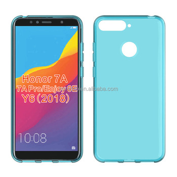 sale retailer 2ba3e c59b9 Clear Transparent Soft Mobile Phone Case For Huawei Honor 7a Pro Enjoy 8e  Tpu Back Cover - Buy Cell Phone Case For Huawei Honor 7a Pro Enjoy ...