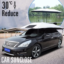 High temperature resist car body protect sun protection car sun visor cover