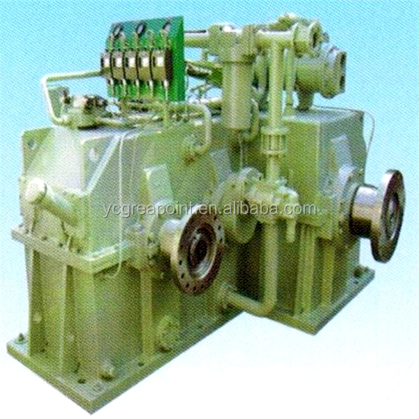 Pump box and clutch gear box