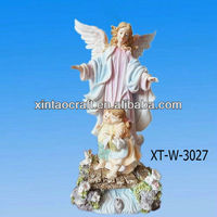 resin home decoration angels figurines