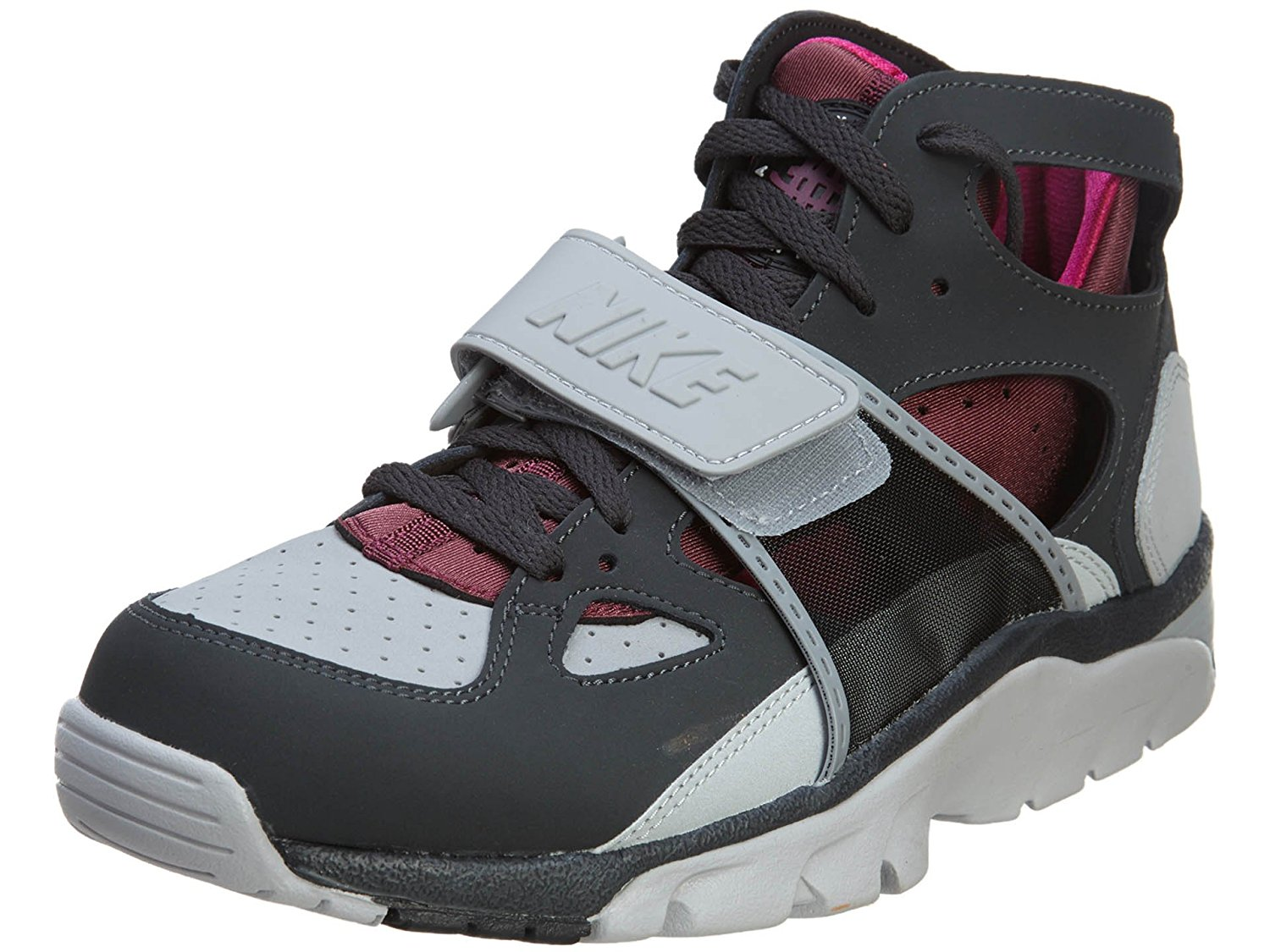 177ad2df9a879 Get Quotations · Nike Air Trainer Huarache Wild Grey Puple 12