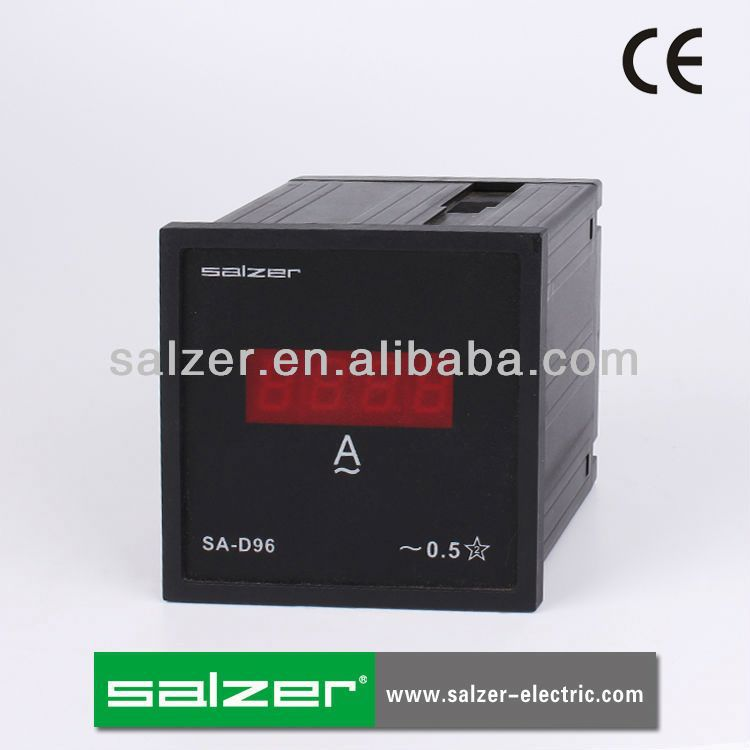 SALZER CE SA-D96A AC 3-Phase Digital Panel Meter