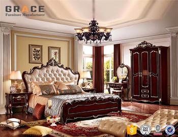 H8826R Formica Bedroom Almari Furniture Sets Round Bed