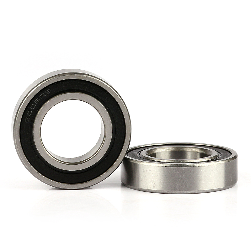 low noise heat resistance deep groove ball bearing 6005 2rs