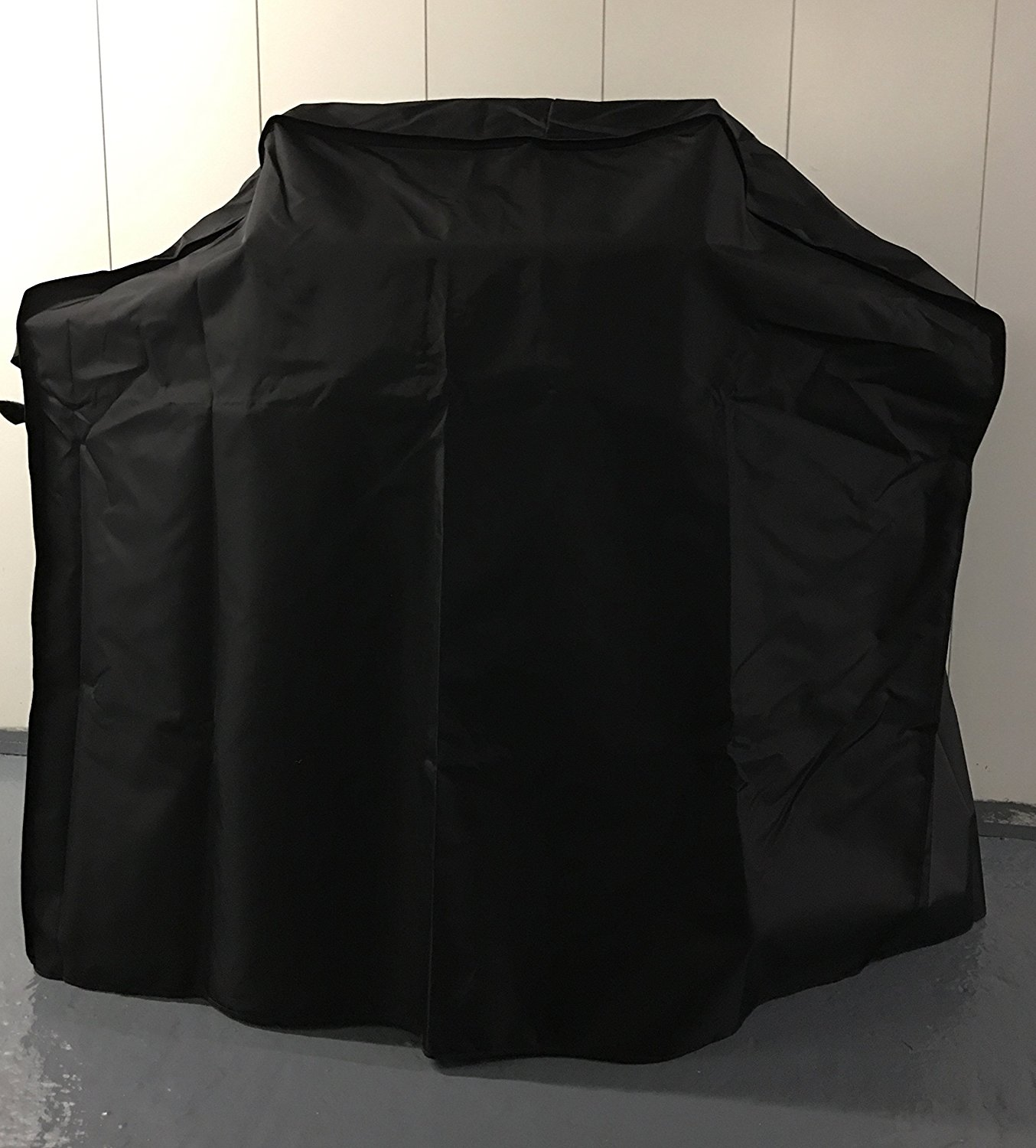 Comp Bind Technology Grill Cover for Weber Spirit E-310 Gas Grill Custom Fitting Outdoor, Waterproof Black Cover - 51''W x 33''D x 48''H