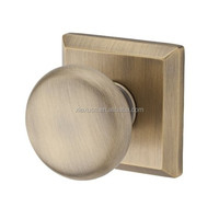 Traditional square door knob , cylindrical door knob lock