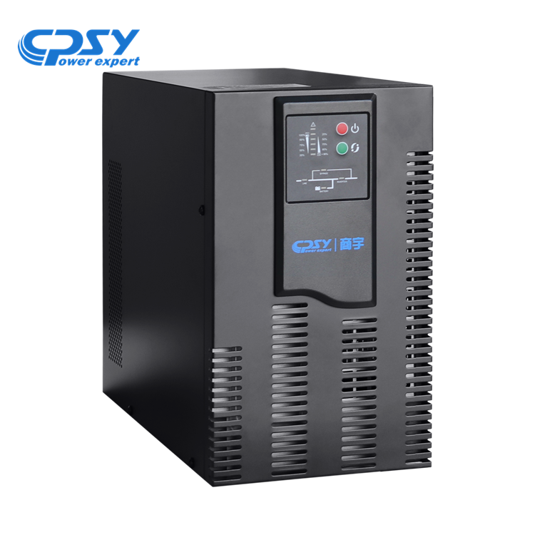 trure double conversion pure sine wave 1kva 2kva 3kva online ups for security alarms systems