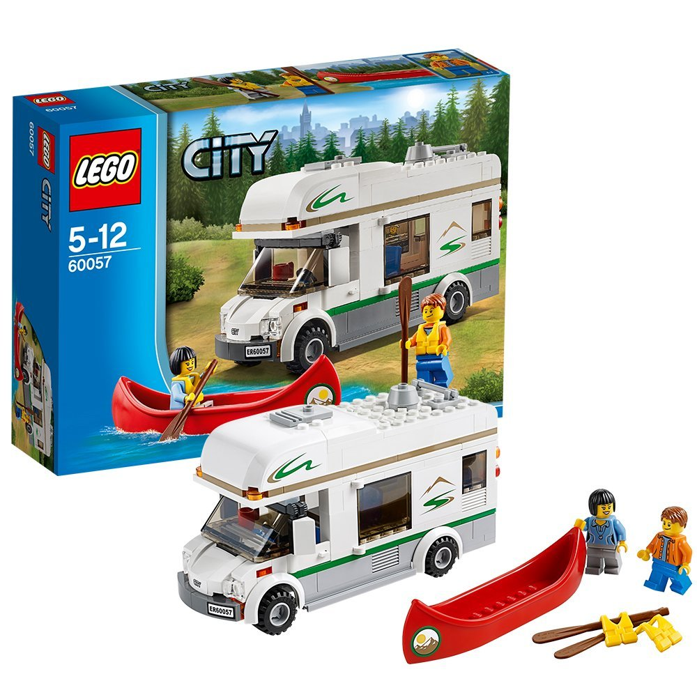 Buy Lego City 60057 Camper Van Rv Bus Canoe Camping Set 2