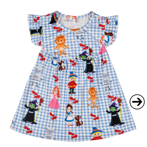 Fashion style baby clothing floral printed baby dress girls boutique dress