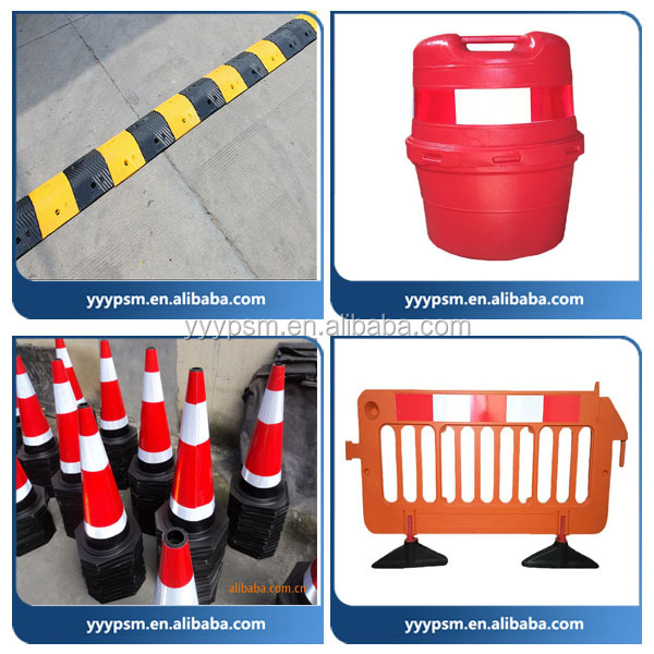 Road Cone / Safety Cone / High Visibility PVC Injection Molded Cones