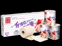 Natural unbleached toilet paper, for maternal and infant original toilet paper