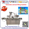 YB-P8 80-100can/min automatic aerosol filling machine