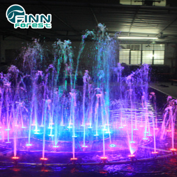 Diameter 1.8m music festival fountain decoration for sale