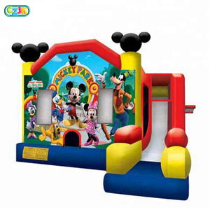 2018 Castle Alibaba Big Bounce Houses Commercial Manufacturers Cheap Inflatable Mickey Mouse Bouncers